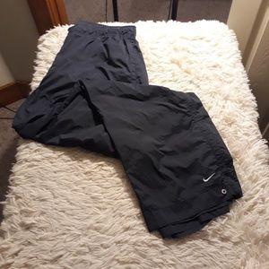 Nike track pants men 2xl navy blue lightweight